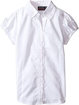 Ruffle Placket Blouse (Little Kids)