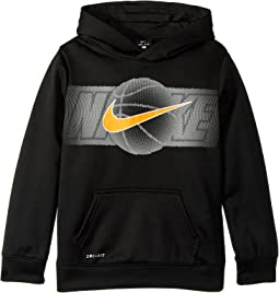Half Tone Sport Ball Hoodie (Little Kids)