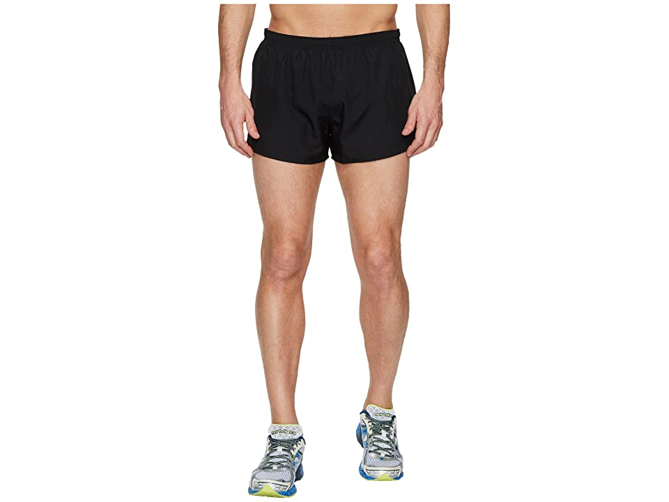 New Balance Accelerate 3 Split Shorts (Black) Men