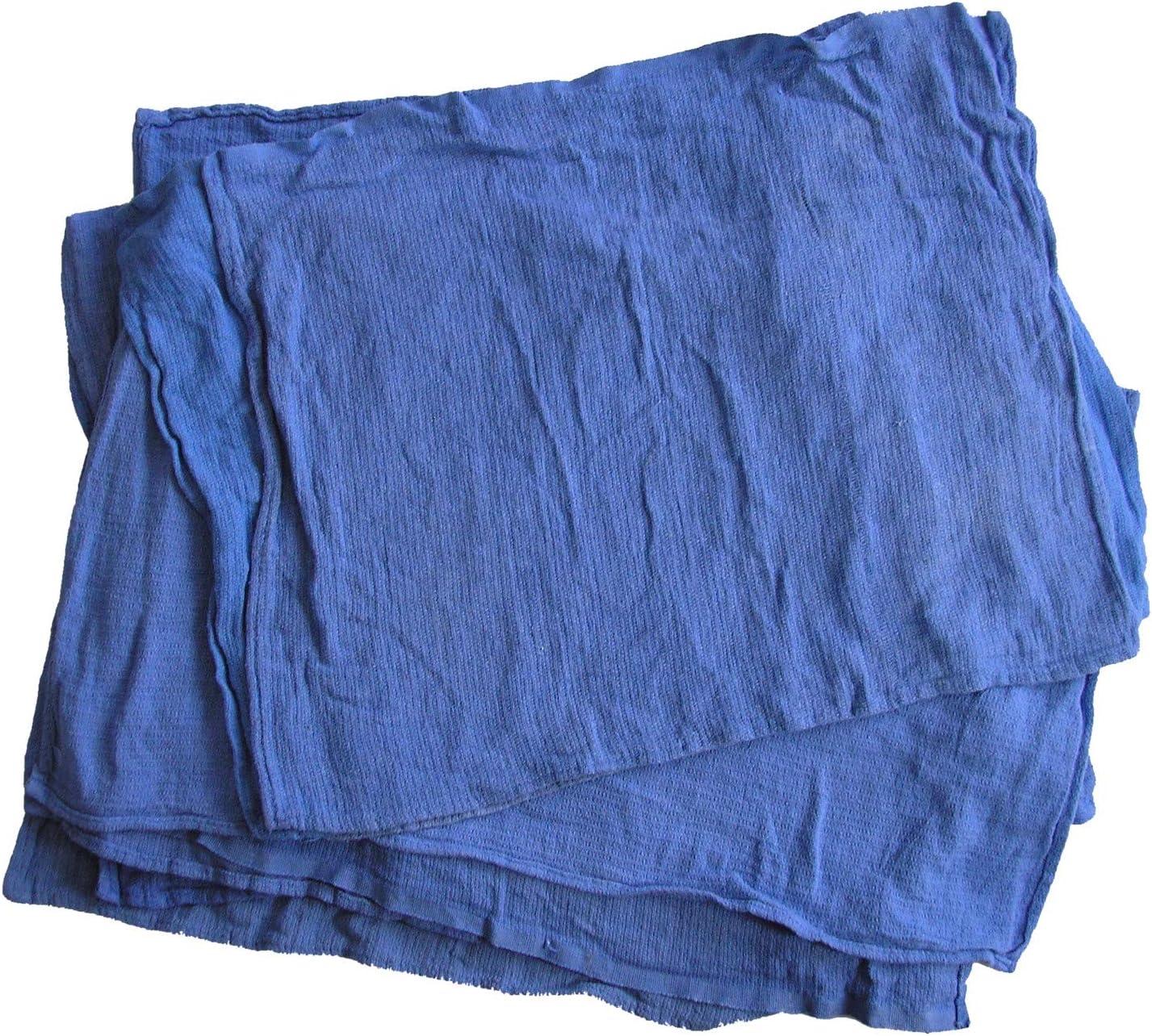 HI-TECH Blue Surgical Huck 再入荷 永遠の定番 予約販売 Towels 10 lb Box Reclaimed