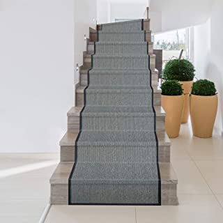 iCustomRug Zara Synthetic Sisal Collection Rug and Runners, Softer Than Natural sisal Rug, Stain Resistant & Easy to Clean...