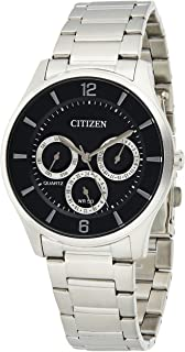 CITIZEN Men's Quartz Watch, Analog Display and Stainless Steel Strap AG8351-86E