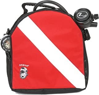 Dive Flag Regulator bag Made by Armor Bags, USA. Desgned by and for divers.