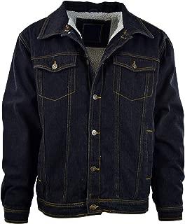 Best mens wool lined denim jacket Reviews