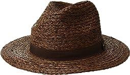San Diego Hat Company - Raffia Braid w/ Grosgrain Fedora