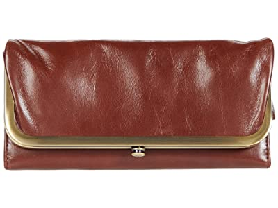 Hobo Rachel (Chocolate Vintage Hide) Clutch Handbags