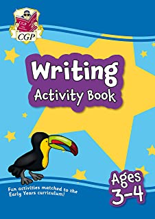 New Writing Activity Book for Ages 3-4: Perfect for Catch-Up and Home Learning