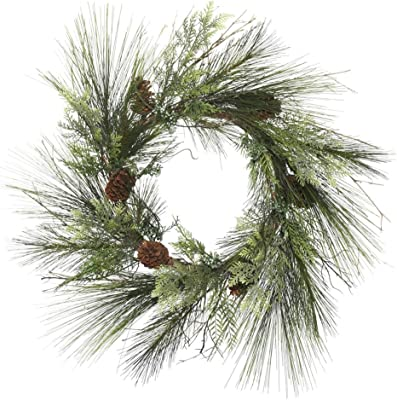Vickerman Mixed Cedar Pine Wreath