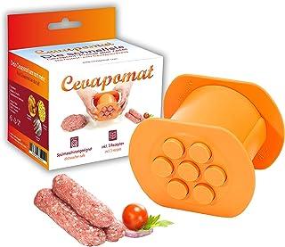 Cevapomat Cevapcici Presse rapide et facile – également pour hamburgers, croquettes, gnocchi, churros, pâtisseries, biscuits
