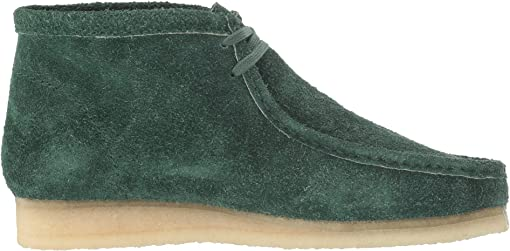Forest Green Hairy Suede