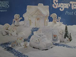 Sugar Town Post Office The Complete 8 piece collection set Precious Moments #456217