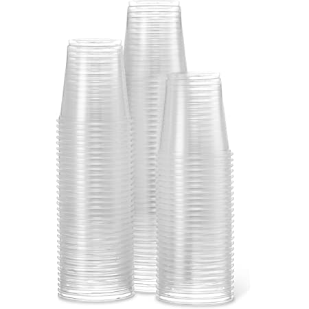 Tests, Bathroom Details about  /2500 Cups 3 Oz Clear Plastic Disposable Reusable For Drinking