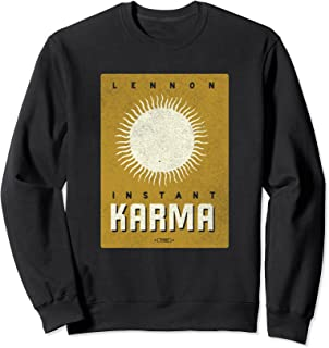 John Lennon - Instant Karma Sun Sweatshirt