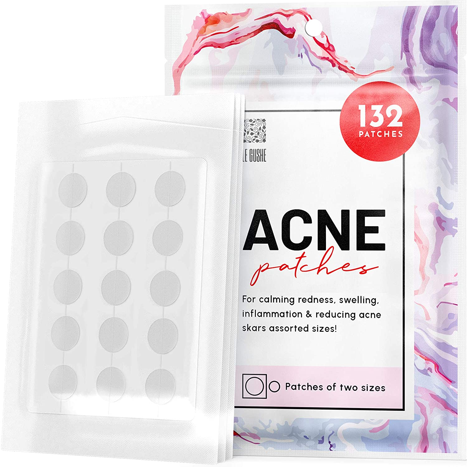 Hydrocolloid Pimple Patches Blemish Protective Cover Absorbing Spot Treatment Hydrocolloid Dressing Zit Sticker Healing Dot