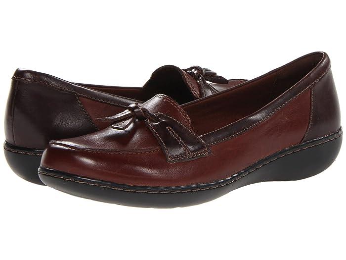 Clarks  Ashland Bubble (Brown Multi) Womens Slip on  Shoes
