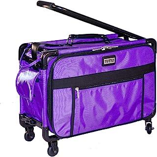 Tutto 2XL Purple Sewing Machine Case on Wheels
