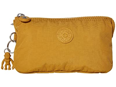 Kipling Creativity Large Pouch (Harvest Gold) Clutch Handbags