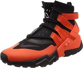 Nike Air Huarache Gripp AO1730-001 Black/Team Orange/White Men's Shoes