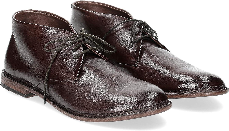 PANTANETTI Man's mid Stiefel 12566 F.826 braun