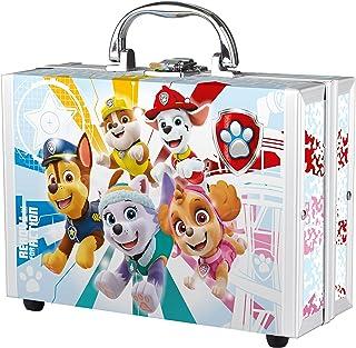 Paw Patrol - verzorgingsset en badplezier, speel- en beauty-koffer voor kinderen, 6-delig, met douchegel, spons en kleurri...