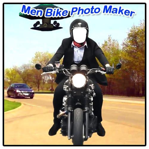 Men Bike Photo Maker New