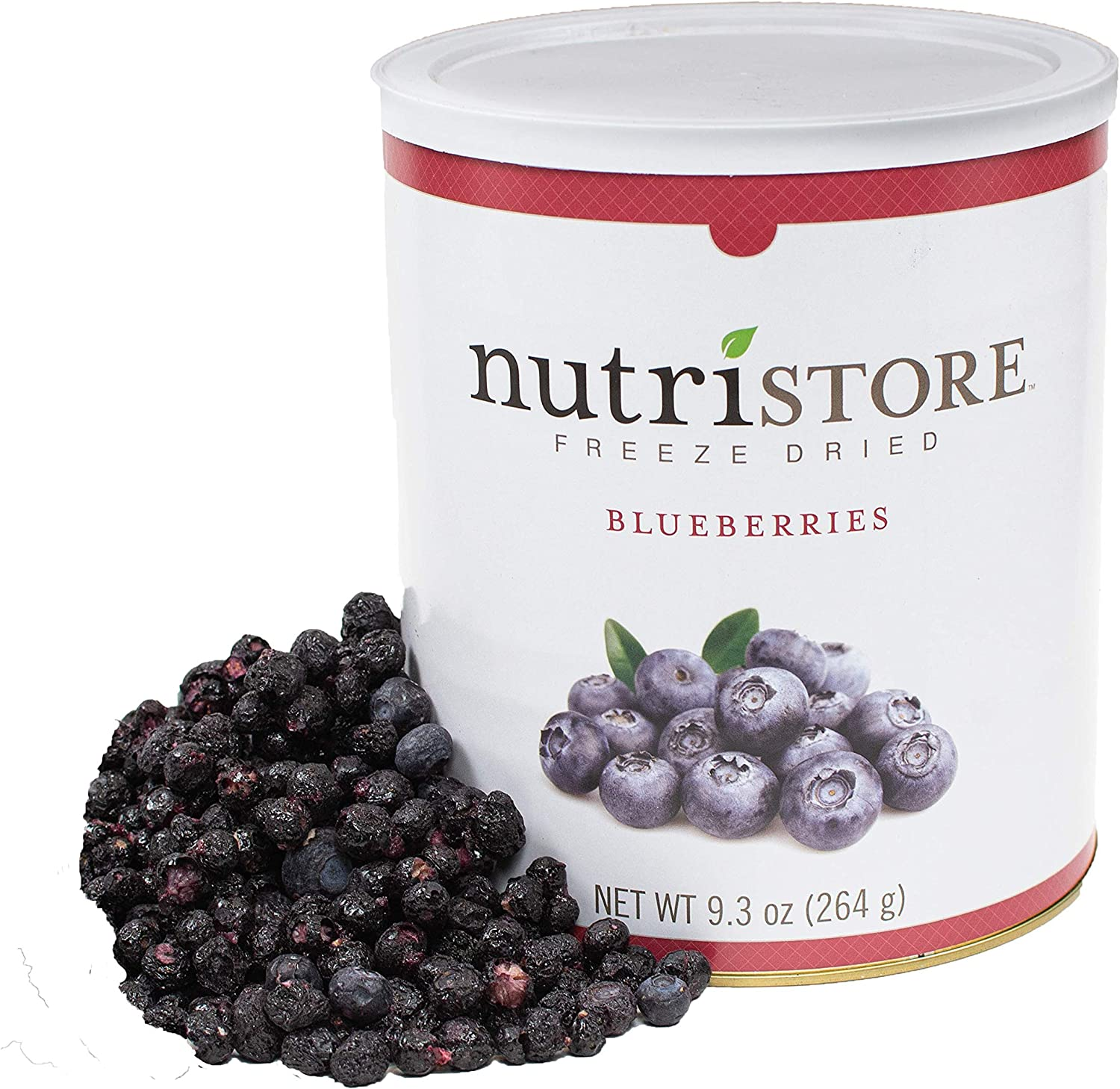 Nutristore Freeze Dried Blueberries Memphis Mall Snack Bulk sold out Healthy Fruit