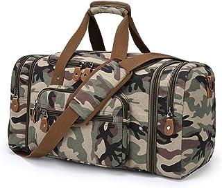 Plambag Reisetasche aus Segeltuch, 50 l, Camouflage Mehrfarbig - PB058CF