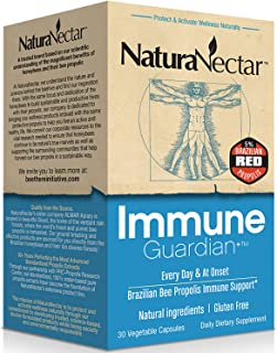 Sponsored Ad - NaturaNectar Immune Guardian, Natural Immune Support Supplement with Bee Propolis, High Concentration Broad...