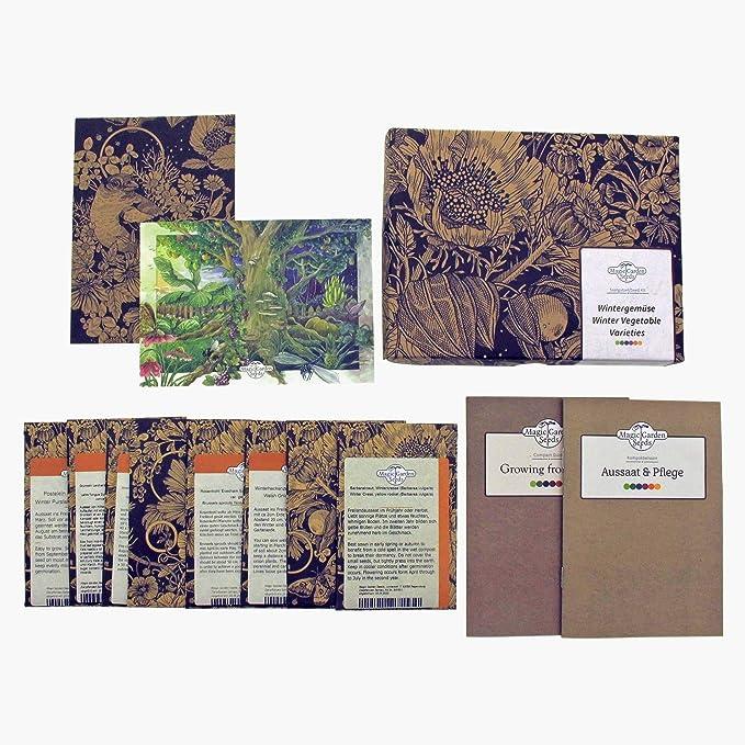 82 opinioni per Magic Garden Seeds Verdure d'inverno- Set Regalo di Semi con 8 varietà vegetali