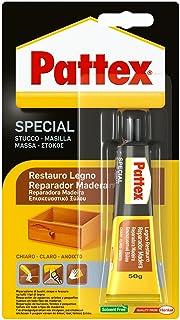 comprar comparacion Pattex Reparador para Madera Clara de Secado Fuerte y Rápido, Marrón, 1 x 50g