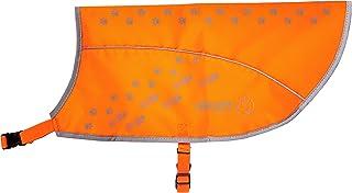 alcott Visibility Dog Vest with Reflective Trim, Large, Neon Orange