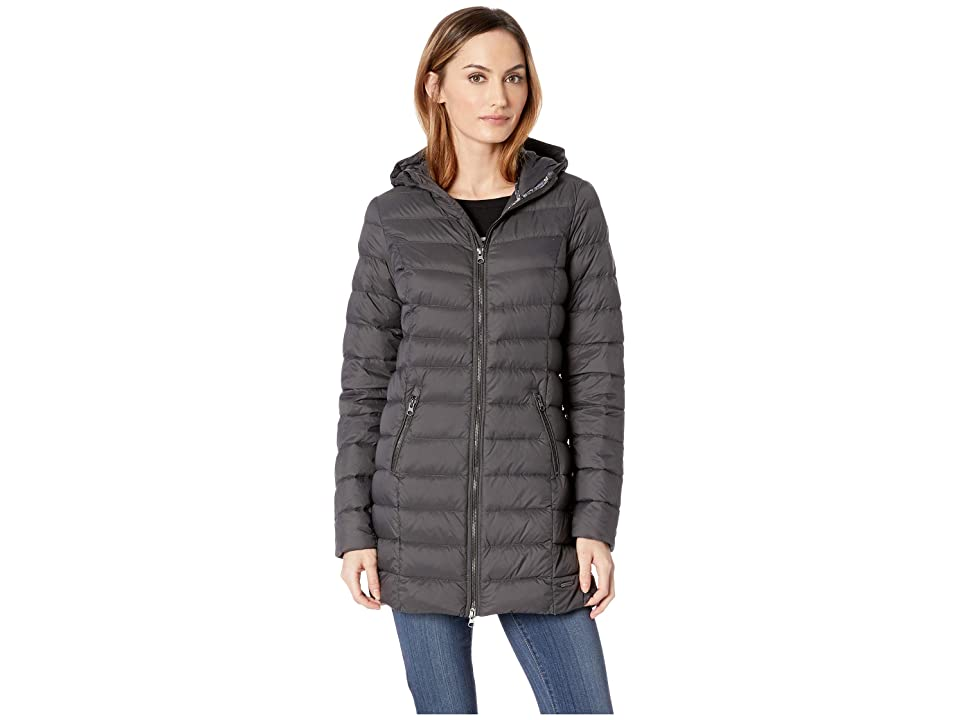 Ilse Jacobsen Light Down Coat (Dark Antracite) Women