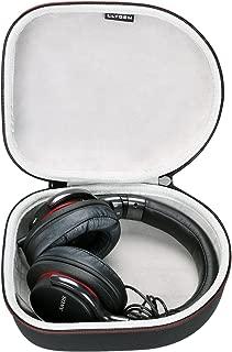 LTGEM Hard Headphone Case Travel Storage Bag for Sony, Audio-Technica, Xo Vision, Behringer, Beats, Photive, Philips, Bose, Maxell, Panasonic and More-Black