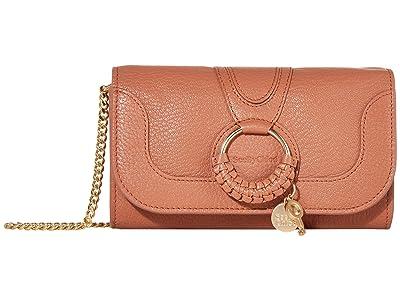 See by Chloe Hana Long Wallet with Flap (Cheek) Handbags