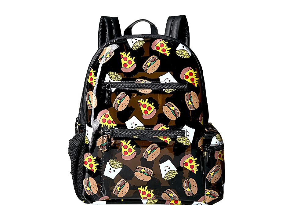 Circus by Sam Edelman Junk Food Backpack (Black Jelly/Black PU) Backpack Bags
