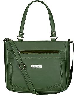 Aisna Women's Kate Handbag(ASN-198)(Green)