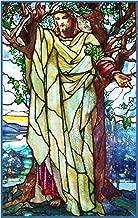 Orenco Originals Jesus Sermon on The Mount Inspired Louis Comfort Tiffany Counted Cross Stitch Pattern