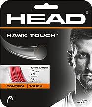 HEAD Hawk Touch 18 Tennis String (Red)
