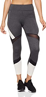 Calvin Klein Women's High Waist 7/8 Tights with Mesh Inserts