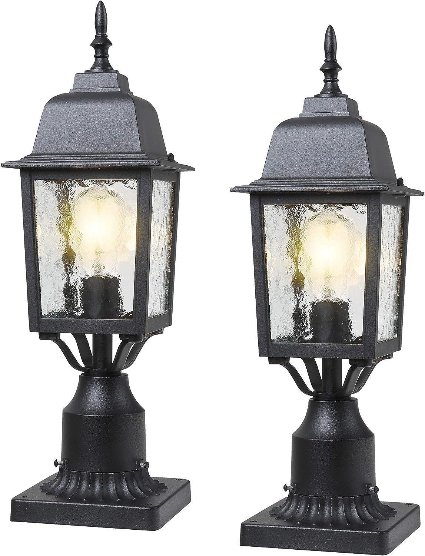 BEEZOK Outdoor Post Lights Exterior Nippon regular agency Co Lantern 3-inch with Milwaukee Mall