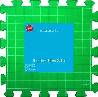Accessoire pour tricot et crochet, vert, 30,5 x 30,5 cm