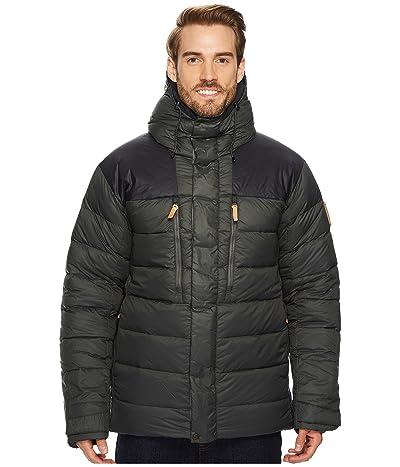 Fjallraven Keb Expedition Down Jacket (Stone Grey/Black) Men