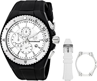 TechnoMarine Unisex 110049 Cruise Original Chronograph Silver Dial Watch