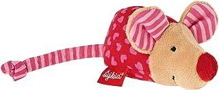 sigikid, Mädchen, Greifling und Rassel Maus, Pink, 49136