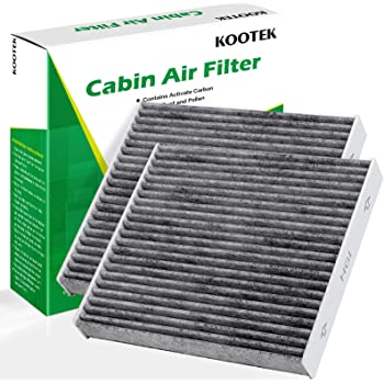 Kootek Cabin Air Filter with Activated Carbon, 2 Pack Replacement for CF10285/CP285/TCF285/Toyota/Lexus/Scion