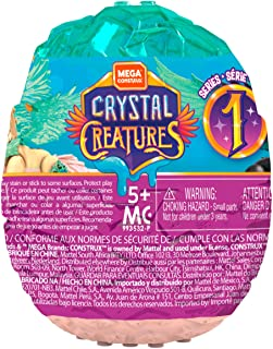 Mega Construx Crystal Creatures, Styles May Vary