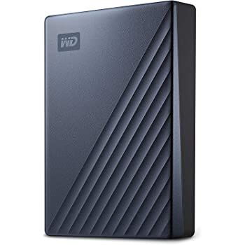 WD 5TB My Passport Ultra Blue Portable External Hard Drive, USB-C - WDBFTM0050BBL-WESN