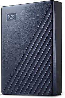 WD 5테라(5TB) 마이 패스포트 휴대용 외장하드 블루 WD 5TB My Passport Ultra Blue Portable External Hard Drive HDD, USB-C and USB 3.1 Compatible - WDBFTM0050BBL-WESN