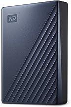 هارد دیسک اکسترنال قابل حمل وسترن دیجیتال مدل پاسپورتی Ultra با ظرفیت 5 ترابایت ، اتصال از طریق USB-C ، رنگ آبی ، WDBFTM0050BBL-WESN