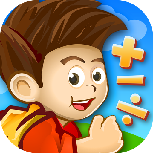 Yash Math Adventure: Elementary math game for kids in 1st, 2nd, & 3rd grade...